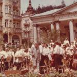 koncert u Křížového pramene pro ČS televizi
